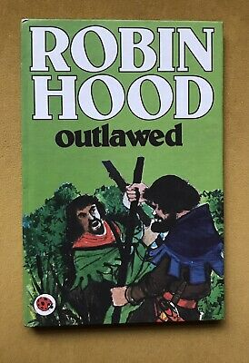 2 Robin Hood Ladybird Story Books 740 Series Outlawed And Kings Ransom VINTAGE • 3£