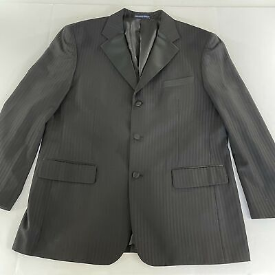 Men's Long Sleeve Gray Suit-Jacket Size 44 Shell RN90470 • 10.82£