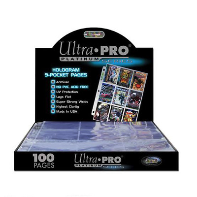 Ultra Pro Platinum 9-Pocket Pages (25 Pages) • 12.38£