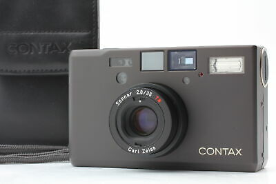 $ CDN3169.23 • Buy [MINT In CASE] Contax T3 D Black Double Teeth 35mm Point & Shoot From JAPAN