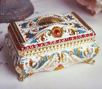 $ CDN49.85 • Buy Colourful Tin Alloy  Rectangle  Music Box   ♫  Harry Potter Hedwigs Theme  ♫