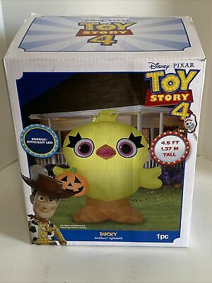 $ CDN50.62 • Buy Toy Story Ducky Halloween Airblown Inflatable GEMMY 4.5 Ft Porch Greeter RARE