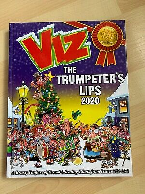 Viz Annual 2020: The Trumpeter's Lips Hardcover Book New • 8£