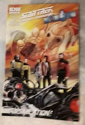 Star Trek The Next Generation Doctor Who #4 August 2012 IDW 1st Print  • 11.95£