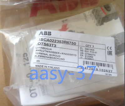 5PCS NEW ABB Isolation Switch Terminal Protection Cover For OT Series OTS63T3 • 17.50£