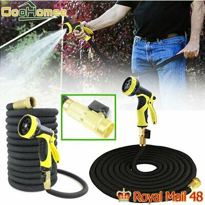 3X Stronger Deluxe 50/75 FT Expandable Flexible Garden Water Hose • 18.88£