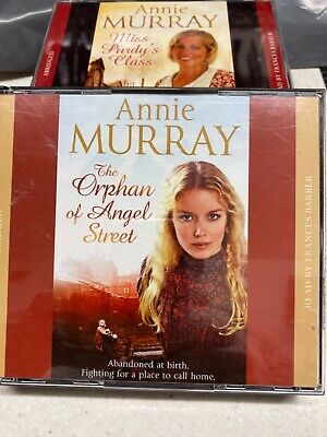 2 X Anne Murray Audio Books Orphan Of Angel Street And Miss Purdy's Class  • 10£