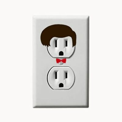 £4.29 • Buy Doctor Who - Tardis - Electric Outlet Wall Art Sticker