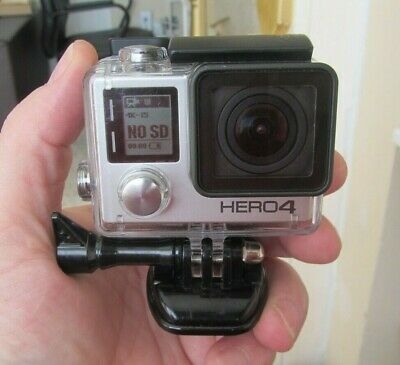 AU132.09 • Buy Gopro HERO 4 Silver 4K Action Touchscreen Camera Camcorder