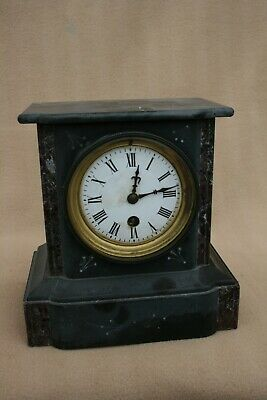 £65 • Buy Antique French Single Train Slate And Marble Clock For Restoration