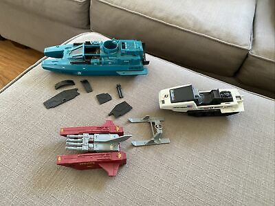 $ CDN7.56 • Buy Lot Of 3 Vintage GI Joe ARAH Vehicles Cobra Water Moccasin Snow Mobile Jet Pack