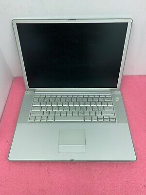 LOT OF 5 - Apple Powerbook G4 15  1.67GHz 1GB - Untested - Please Read • 130.92£