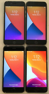 $ CDN444.40 • Buy LOT OF FOUR TESTED CDMA + GSM UNLOCKED AT&T APPLE IPhone 6S, 32GB PHONES A140J