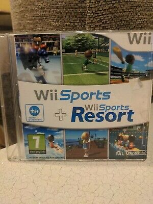 Nintendo Wii Sports + Wii Sports Resorts Game  • 4.20£