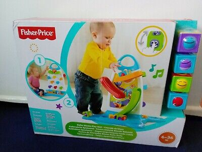 Fisher Price Baby Toy Roller Block Play Wall Musical Educational Toy • 10.99£