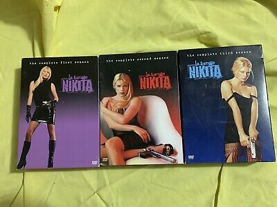 La Femme Nikita The Complete 1st 2nd 3rd Season DVD 2005, 6-Disc Set Used Nice • 11.56£