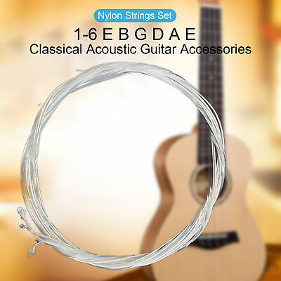 $ CDN3.47 • Buy 6Pcs In 1Set Guitar Strings Perfectly Music Accessories Gift Nylon Lightweight