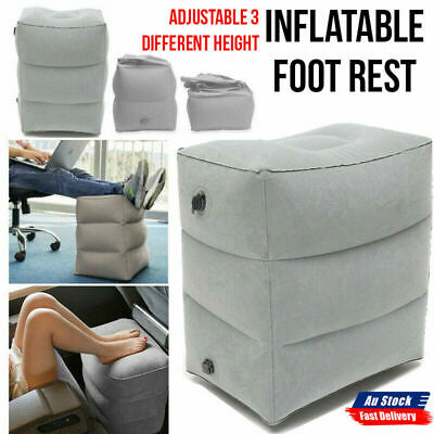 AU13.99 • Buy NEW Inflatable Foot Rest Travel Air Pillow Cushion Home Travel Footrest Relax AU