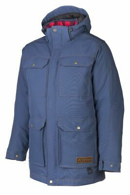 $ CDN398.72 • Buy Klim Tundra Parka Snowmobile Jacket Blue Mens Size 2XL