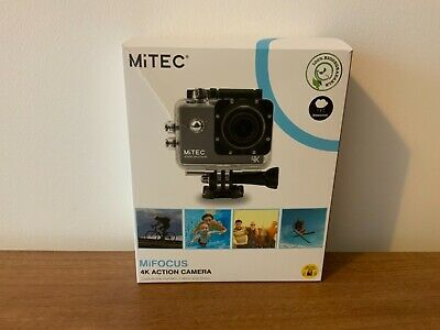 Mitec Mifocus 4k Action Camera, Ultra Hd, Wifi, Waterproof, Underwater Camera • 60£