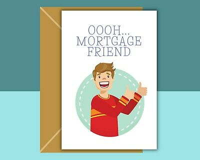 Funny New Home Card - Mortgage Friend - Inbetweeners • 2.89£