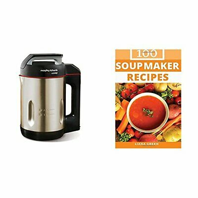 Morphy Richards 501014 Saute & Soup Maker, Brushed Stainless Steel, Soup Recipes • 95.76£