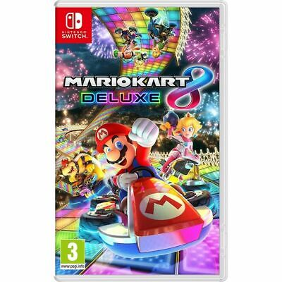Mario Kart 8 Deluxe Video Game For Nintendo Switch • 11.50£