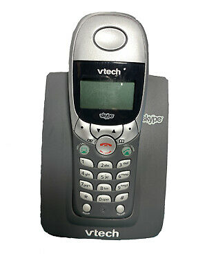 VTech Cordless Dual-Line PC Phone For Skype VoIP - USB7100 NEW • 24.74£