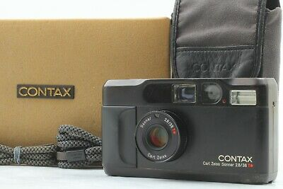 $ CDN2220.21 • Buy [Opt MINT In Box] Contax T2 Limited Black Point Shoot Film Camera From JAPAN 634