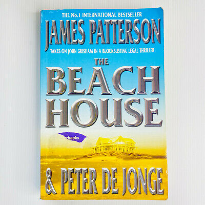 AU12 • Buy The Beach House By James Patterson Paperback Book Legal Thriller Free Post