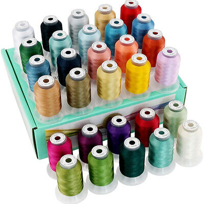 £32.49 • Buy New Brothread 30 Janome Colors Polyester Embroidery Machine Thread -Assortment 2