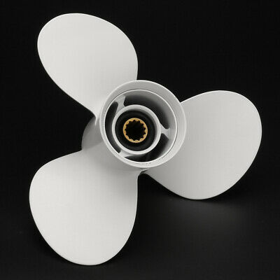 AU61.79 • Buy 3 Blades Outboard Marine Boat Propeller Prop For Yamaha 40-60HP 11 3/8 X 12 G