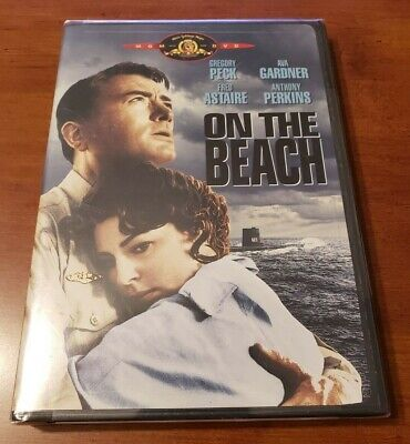 NEW Factory Sealed On The Beach DVD 1959 Gregory Peck Ava Gardner War Time Movie • 15.71£
