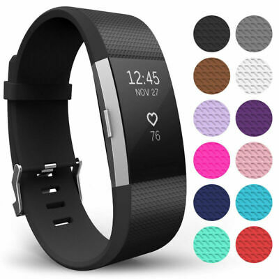 $ CDN7.80 • Buy For Fitbit Charge 2 / 2 HR Replacement Silicone Bracelet Wrist Watch Band Strap