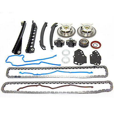 $127.99 • Buy 05-09 Ford F150 Lincoln 5.4L 3V Timing Chain Oil Pump Kit+Cam Phasers+Solenoid