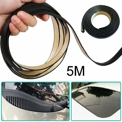 Car Windshield Roof Rubber Insulation Seal Strip Edge Protector Sealing Trim 5M • 7.13£
