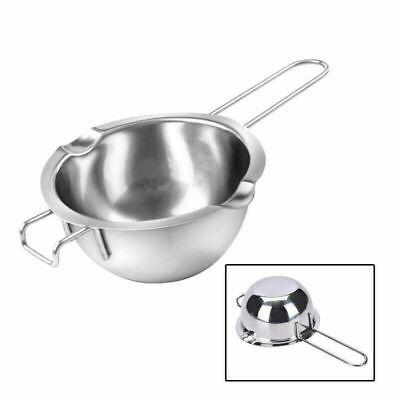 Stainless Steel Wax Melting Pot Double Boiler Pan For DIY Wedding Scented Candle • 5.89£