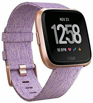 AU149 • Buy Fitbit Versa Special Edition SE Lavender With Extra Classic Purple Band New