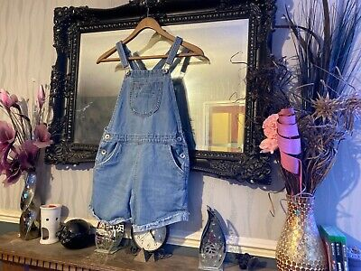 Girls Next Blue Shorts Dungarees Age 12 Years • 1.40£