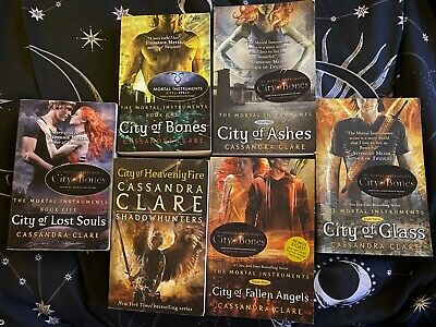 The Mortal Instruments Series By Cassandra Clare - Books 1-6 (City Of Bones Etc) • 9.50£