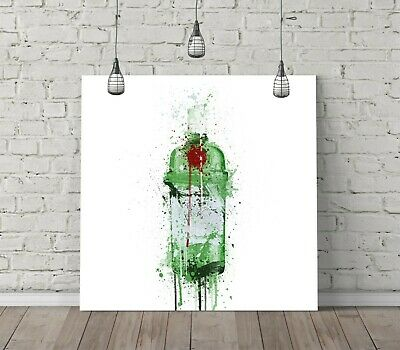 Tanqueray Splash Art Square Canvas Wall Art Float Effect/frame/poster Print- • 14.99£