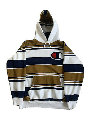 $ CDN88.20 • Buy Supreme X Champion Hoodie Large Used Condition Signs Of Wear