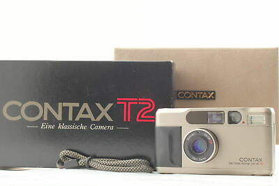 $ CDN1262.43 • Buy [EXCELLENT+5 In BOX] Contax T2 Point & Shoot 35mm Film Camera From JAPAN