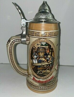 $ CDN9.68 • Buy Tomorrow's Treasures From Anheuser-Busch Limited Edition II Lidded Stein CS65