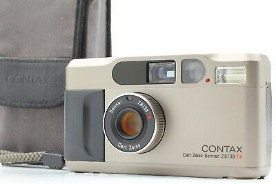 $ CDN1109.45 • Buy 【MINT W/Strap】 Contax T2 35mm Point & Shoot Film Camera Silver Case JAPAN #1031