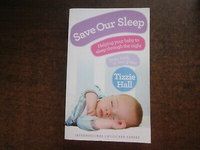 AU15 • Buy SAVE OUR SLEEP By Tizzie Hall 2010 Parenting Baby Book Softcover
