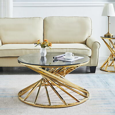 Round Nest Of Tables Coffee Table Side End Table Sofa Corner Home Living Room BN • 199.99£