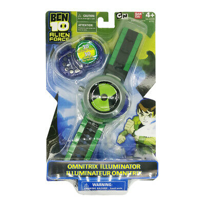 Ben 10 Cartoon Network Omnitrix Projector Watch Toy For Kid New Year Gift • 8.99£