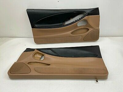 $300 • Buy 1994-1995 OEM Ford Mustang GT Tan Door Panels Front Pair 94-95 |S9748