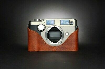$ CDN86.34 • Buy Leather Half Case For Contax G2 (choice Of Colours) - BRAND NEW